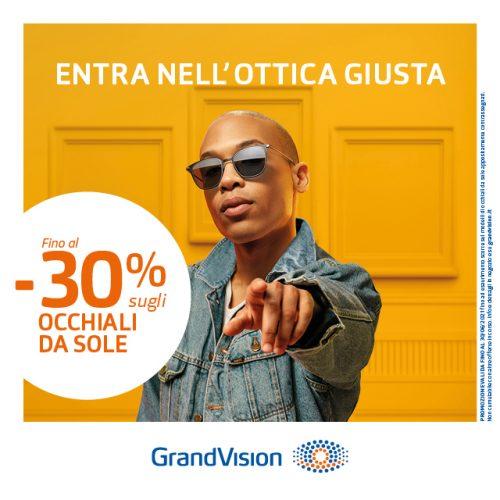 Promo Entra nell'ottica giusta… entra da GrandVision!