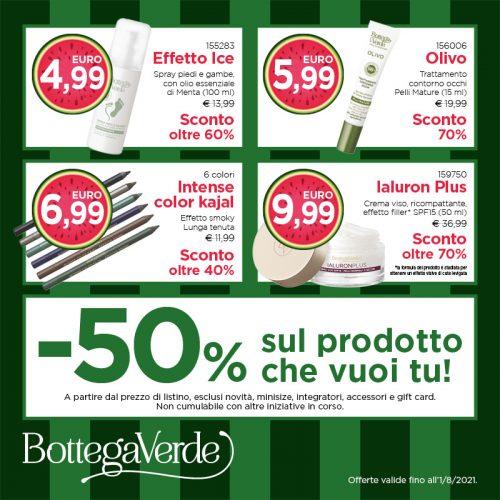 Promo Bottega Verde