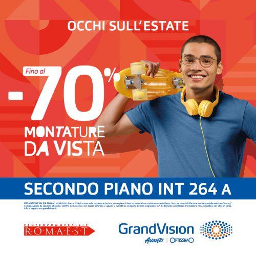 Promo GranVision, Punta gli occhi sull'estate