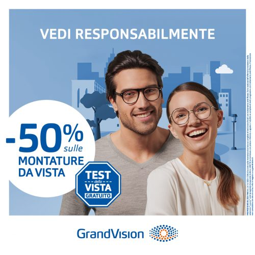 Promo Promozione vista GrandVision